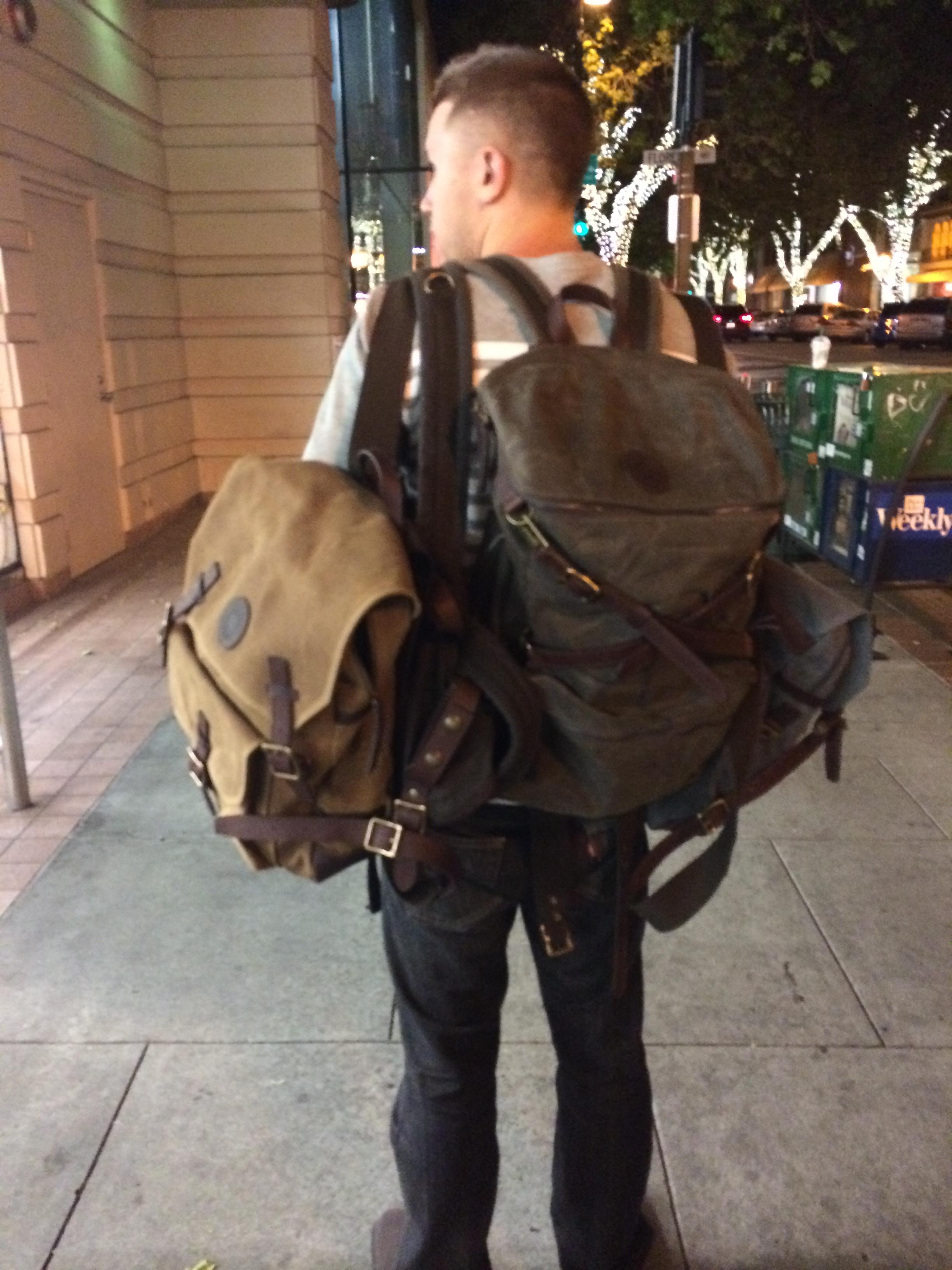 university backpack